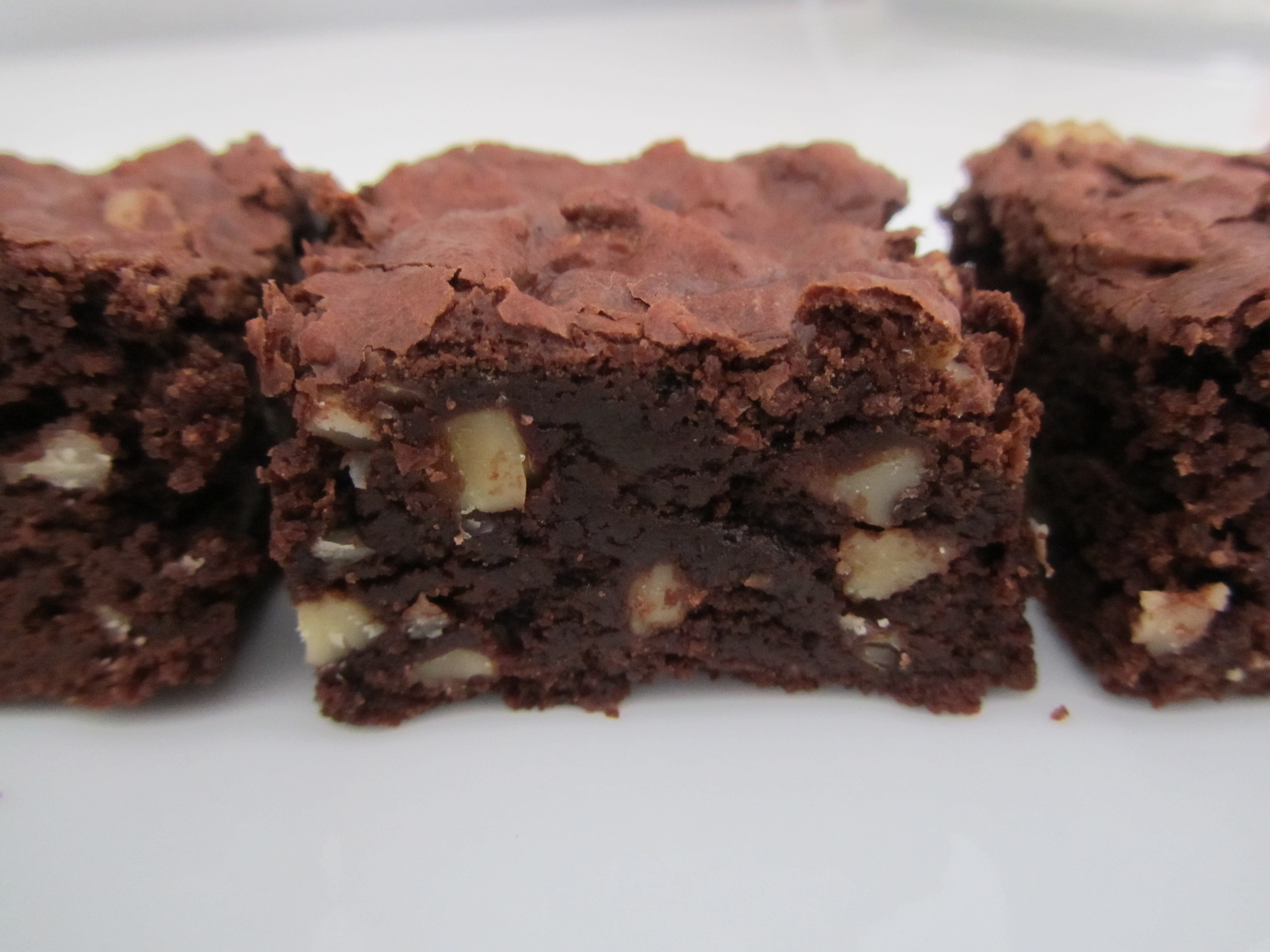 Cocoa Brownies with Browned Butter and Walnuts (Gluten-Free Version)