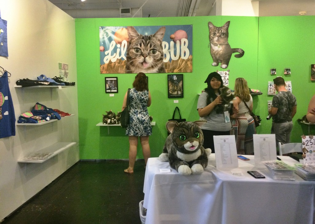 Lil Bub's Booth